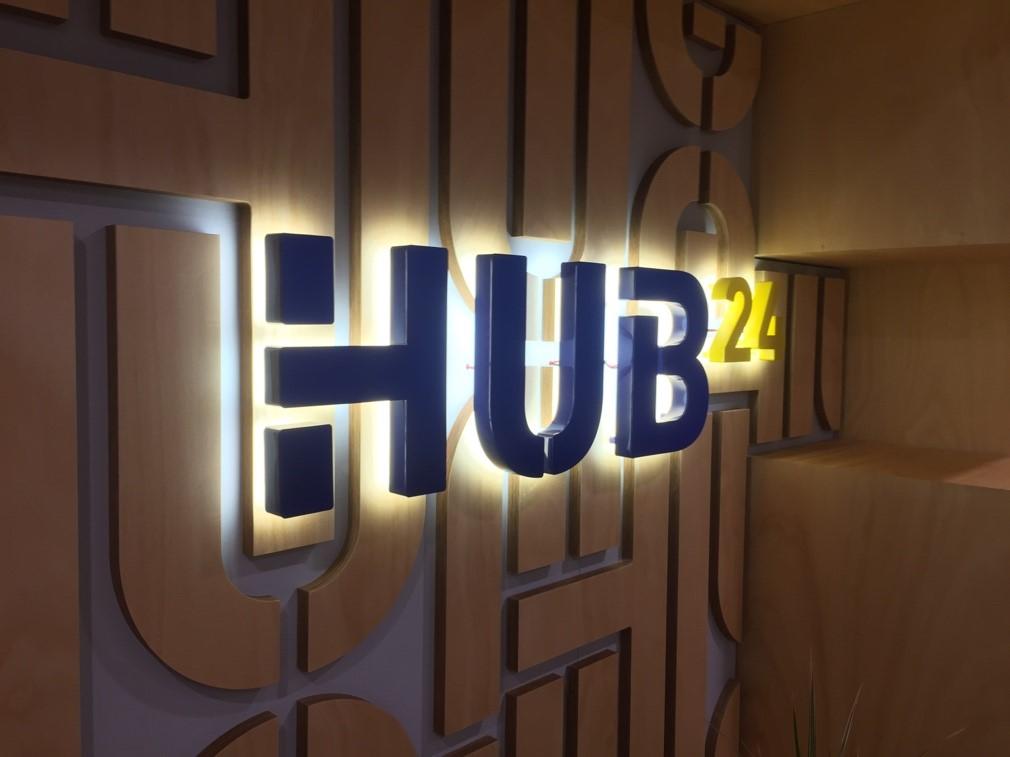 signs australia - hub24 company signage