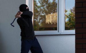 window protection - intruder breaking windows